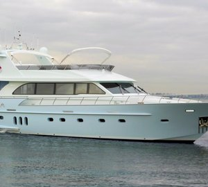 New Motor Yacht SELENA delivered by Van der Valk – Continental Yachts