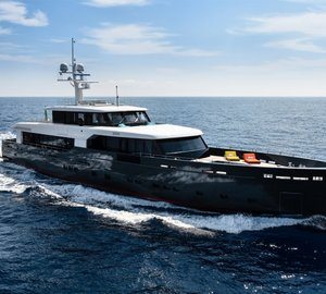 Eye-catching 45m Luxury Yacht MY LOGICA joins Superyacht Rendezvous Montenegro 2015 Fleet