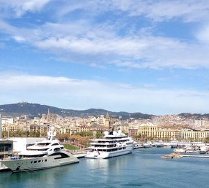 Marina Port Vell – Destination of Choice for Charter Yachts and Private Yachts of up to 190m