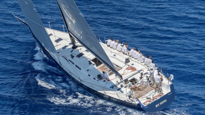 My Song Yacht, Division B - Loro Piana Superyacht Regatta 2015. Photo Carlo Borlenghi