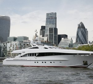 Brokers OPEN DAY aboard Newly Refitted 37m HEESEN Superyacht ILONA in Nice