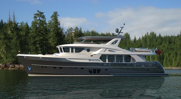 Rendering of Selene 92 Ocean Explorer superyacht