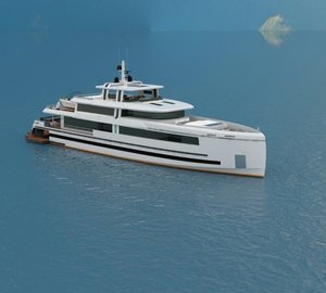 Mengi Yay starts working on new 45m Motor Yacht AQUARIUS (NB93)