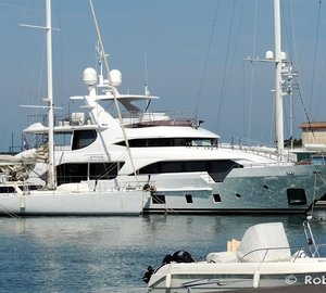 Benetti Tradition Supreme 108 motor yacht ATTITUDE in Italy