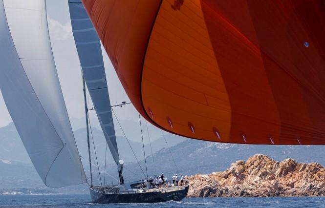 Superyacht Saudade, Division A - Loro Piana Superyacht Regatta 2015. Photo Carlo Borlenghi