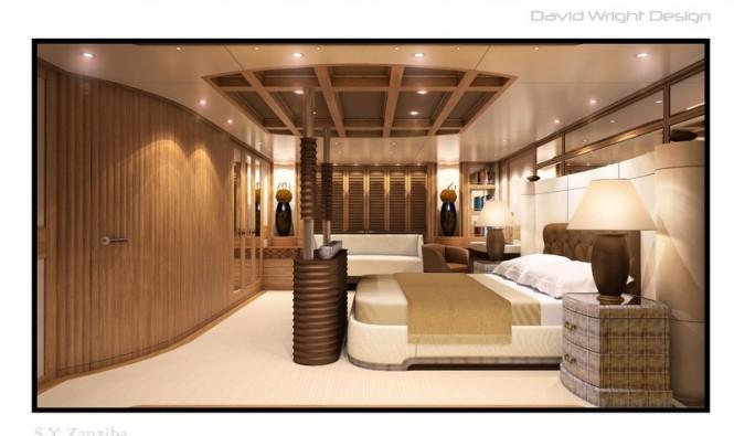 Superyacht Zanziba - Master Stateroom