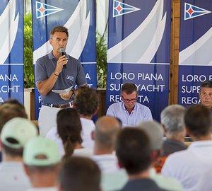 Fleet of Luxury Sailing Yachts ready to start Loro Piana Superyacht Regatta 2015