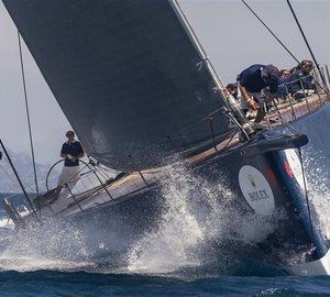 Overall Victory for Wally Cento Superyacht MAGIC CARPET CUBED at Giraglia Rolex Cup 2015