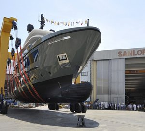 Eagerly awaited launch of first SANLORENZO expedition yacht 460EXP