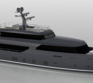 New Motor Yacht LOGICA 135 with Modern Elegance