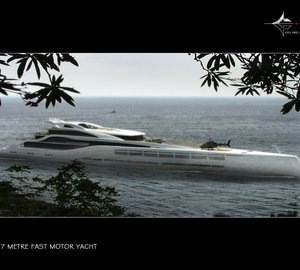 Breath-taking 140M Performance Motor Yacht WWW concept by Ken Freivokh