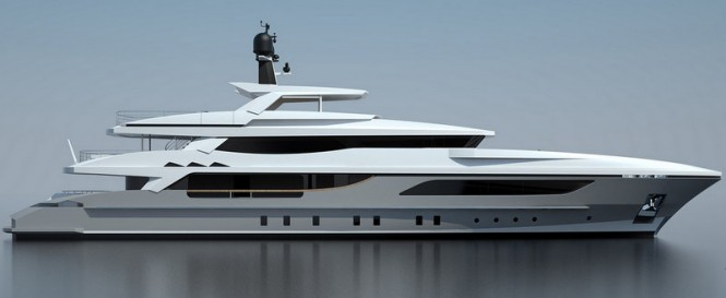 46m displacement superyacht OnlyOne