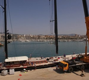 RSB Rigging Solutions Un-Step 55m VITTERS Superyacht MARIE