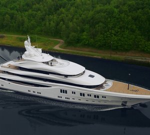 Successful sea trials for 91m LURSSEN Mega Yacht LADY LARA (Project ORCHID)
