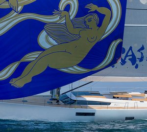 Eye-catching Advanced A80 superyacht APSARAS