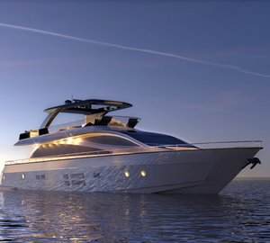 Upcoming launch of the revolutionary Amer 94' Motor Yacht SAVE THE SEA