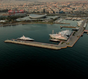 Athens Marina Capable of Berthing Private Yachts and Charter Yachts Up To 180m