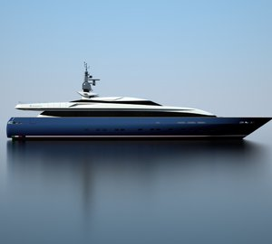New Baglietto 43m Fast Yacht under construction