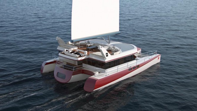DRAGONSHIP 25 Yacht - aft view