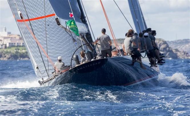 Eric Bijlsma's FIREFLY (NED) sailing in coastal mode - Photo by Rolex Carlo Borlenghi