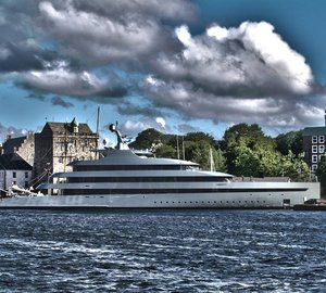 The world's first hybrid Superyacht SAVANNAH by FEADSHIP in Bergen, Norway