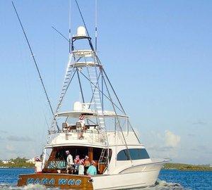 Bermuda Triple Crown Trophy For Super-Fast Jarrett Bay 77 Motor Yacht MAMA WHO