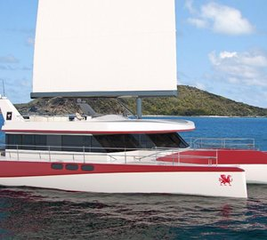 New Luxury Trimaran DRAGONSHIP 25 launched by PI Super Yachts