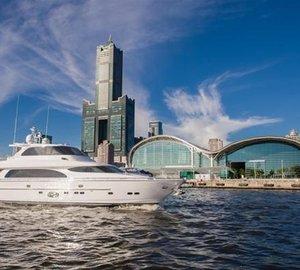 Launch of New 90' Motor Yacht Horizon E84 for Australian market