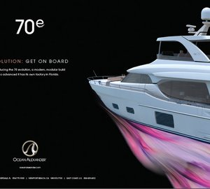 New Motor Yacht 70E – First Evolution Series Yacht by Ocean Alexander