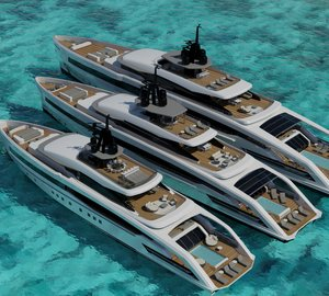 New OCEANSPORT Superyacht Projects by CRN and Omega Architects