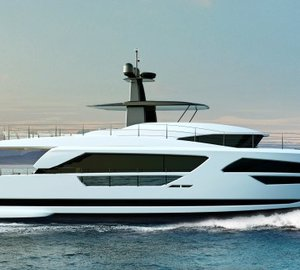 Unique New Motor Yacht HORIZON FD85 under construction