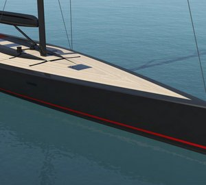 Newly evolved Superyacht P100 concept design for WallyCento racing class unveiled by Philippe Briand