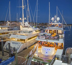 Newport Charter Yacht Show 2015 demonstrates strength of Superyacht Charter Industry in New England