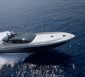 Super-fast OTAM Millennium 80 HT Motor Yacht MR BROWN to be displayed at Cannes Yachting Festival