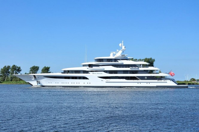 Breath Taking Royal Romance Yacht By Feadship Delivered Yacht