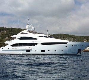 Modern and Sleek Sunseeker 40 Metre Yacht THUMPER for sale