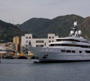 Newly launched 69m TANKOA S693 Mega Yacht SUERTE