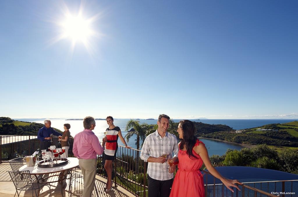 Delamore Lodge - Waiheke Island - Photo Chris McLennan - Courtesy of Tourism New Zealand