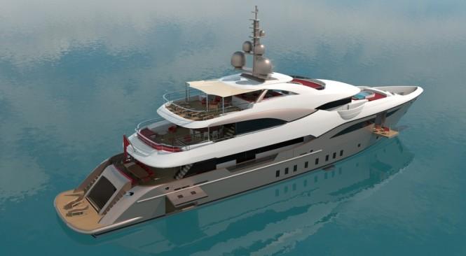 48m Bilgin luxury yacht - Decks