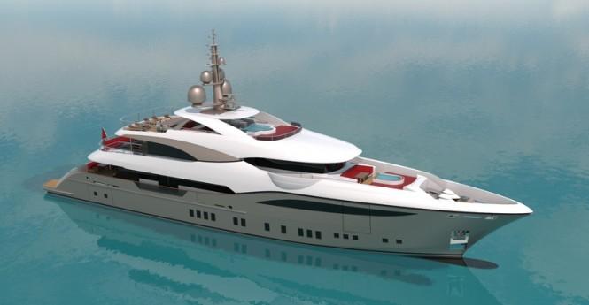 48m Bilgin superyacht