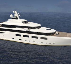 Striking 87m Mega Yacht MIRAMARE concept by Jorge Jabor