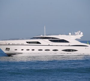 Photos of the striking AB Yachts motor yacht AB145
