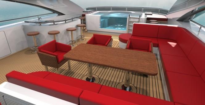 Aboard 48m Bilgin Yacht