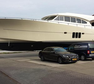 Launch of First Sossego Comfort 22 Motor Yacht FALCON VII