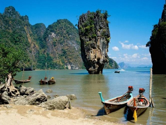 James Bond Island in Thailand - Photo credit to Tourism Board Thailand