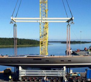 Sailing Yacht  JVNB 115' Launched