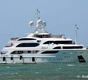 Eye-catching 59m Superyacht I DYNASTY by BENETTI