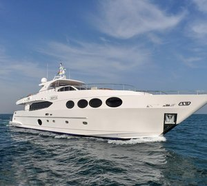 Striking Gulf Craft Superyacht MAJESTY 105 to be showcased at Indonesia Yacht Show 2015