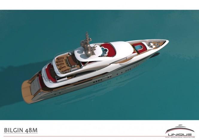 Luxury yacht Bilgin 48m