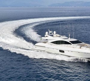 Newly launched Mangusta 110 Superyacht Hull #2 now available to order in Asia